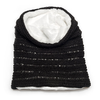 SNOOD WOOL | WHITE FUR