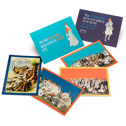 TRADITIONAL COSTUMES POSTCARD SET