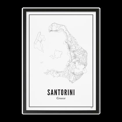 SANTORINI PRINT