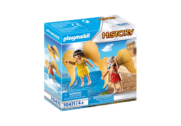 PLAYMOBIL DAEDALUS AND ICARUS