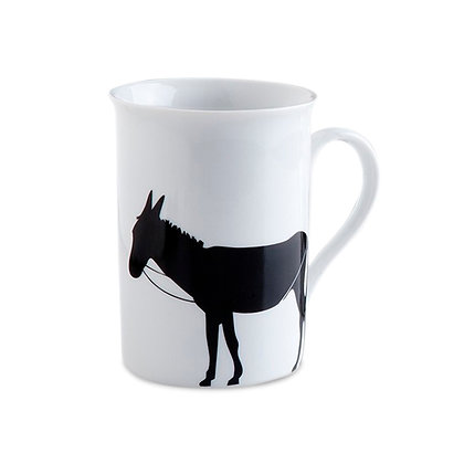 A DONKEY WITH BIG EARS MUG