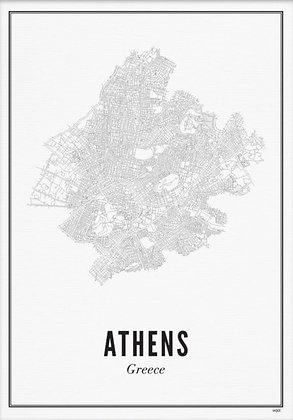 ATHENS A6 PRINT