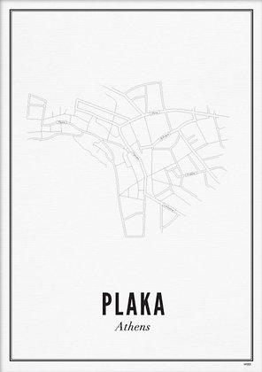 ATHENS PLAKA A6 PRINT