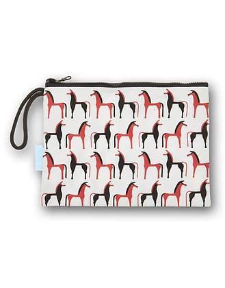 HORSES COSMETIC BAG