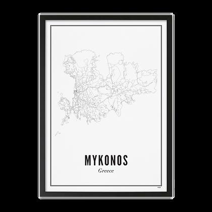 MYKONOS PRINT