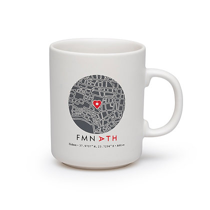 COFFEE MUG PLAKA BLACK