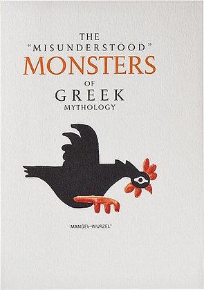 THE MISUNDERSTOOD MONSTERS OF GREEK MYTHOLOGY