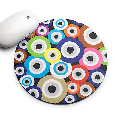 MULTICOLOUR GOOD LUCK CHARM MOUSEPAD