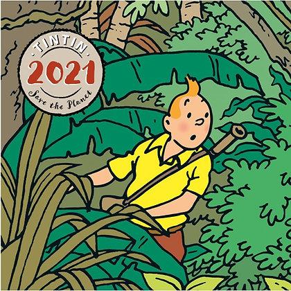 TINTIN 2021 DESK CALENDAR