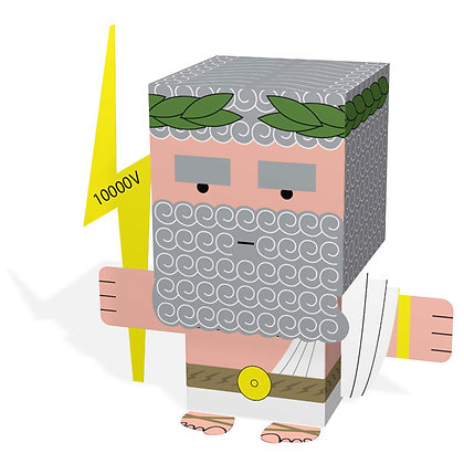 MEET THE GREEKS   ZEUS