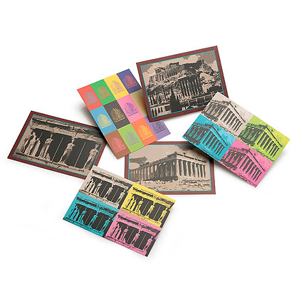 ATHENS MONUMENTS POSTCARD SET