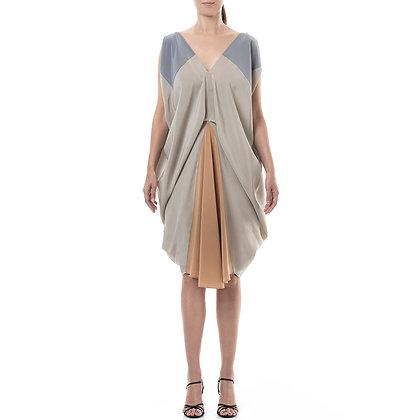 AURORA SILK DRESS