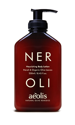 ORGANIC OLIVE LEAVES & NEROLI BODY LOTION