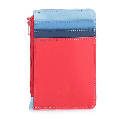 MYWALIT COINS / CREDIT CARD HOLDER BLUE