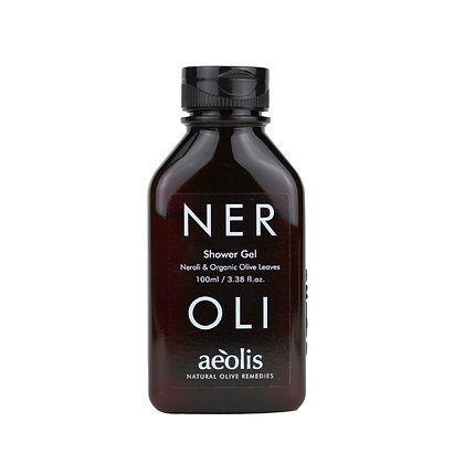 ORGANIC OLIVE LEAVES & NEROLI SHOWER GEL 100ml