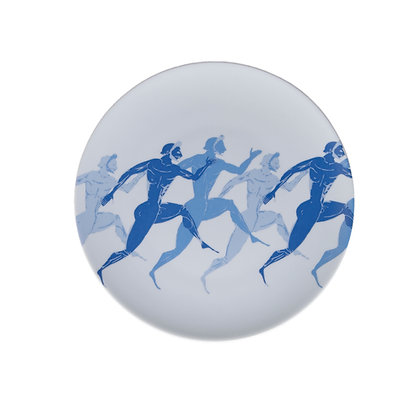 OLYMPIC RUNNERS I DESSERT PLATE