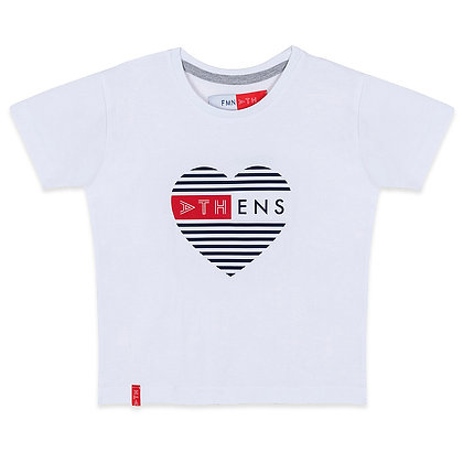 ATHENS HEART KIDS T-SHIRT