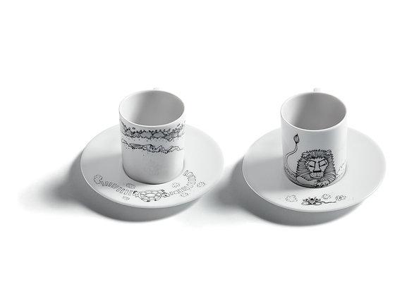 AESOP'S FABLES ESPRESSO CUPS II