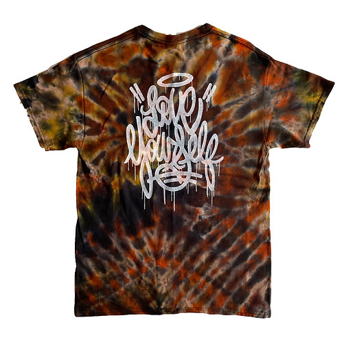 Tie-dyed Love Yourself Shirt