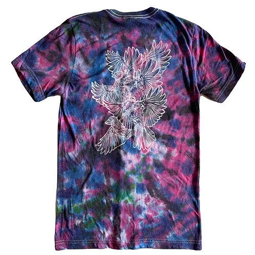 Tie-dyed Bird Shirt
