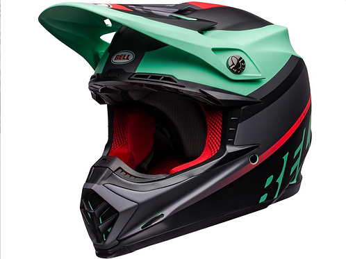 BELL Moto-9 Mips - Prophecy Matte Green/Infrared/Black