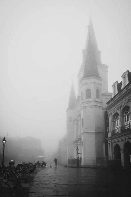 Jackson Square Fog Print
