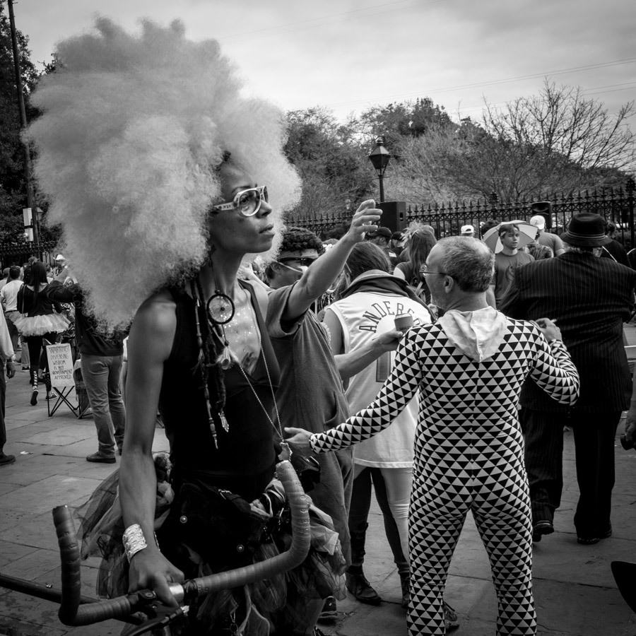mardi gras jackson square