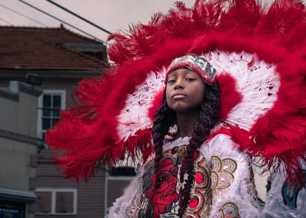 mardi gras indian queen