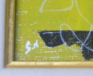 西原正一黄色の花5
