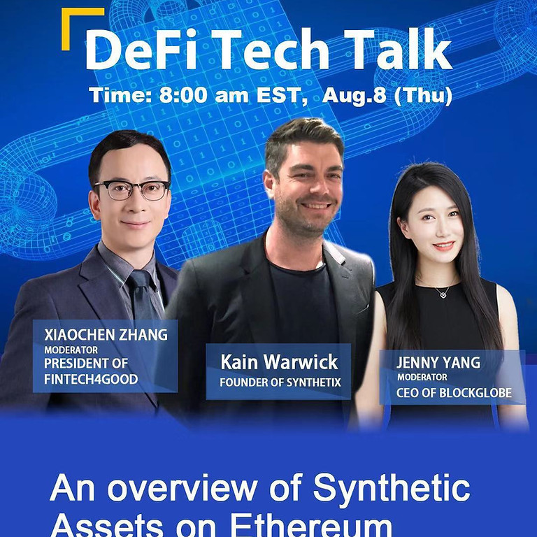 DeFi Tech Talk IX - Synthetix: An overview of Synthetic Assets on Ethereum