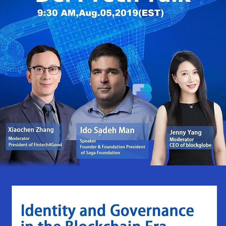 DeFi Tech Talk VIII - Saga Foundation: Identity and Governance in the Blockchain Era