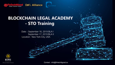 FinTech4Good Convenes 2019 Blockchain Legal Academy on Sep 16 & 17