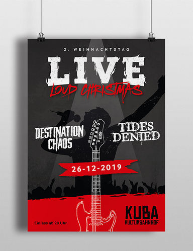 Plakat LIVE Loud Christmas