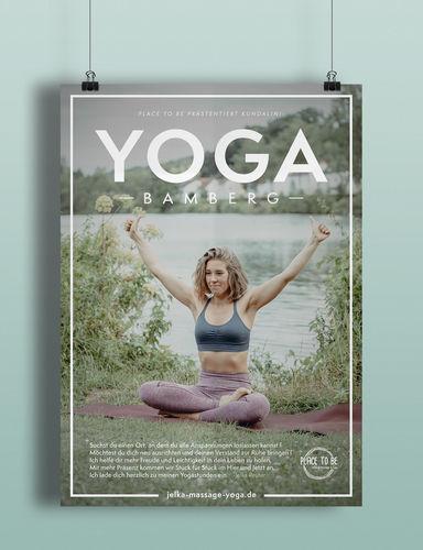 Plakat Yoga