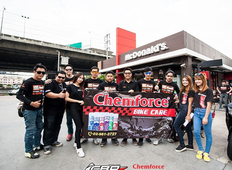CHEMFORCE TRIP & MEETING CBR1000RR THAILAND