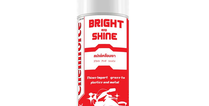 Chemforce Bright & Shine สเปรย์เคลือบเงาสีรถ (16 Oz)