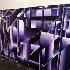 Left wall finally finished  6' x 10' acr