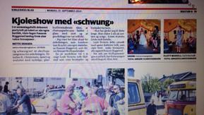 Omtale: Ringerikes blad 2014