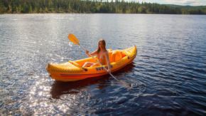 Oppblåsbar Kajakk, kano eller båt.