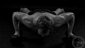 Strongman fotoshoot.