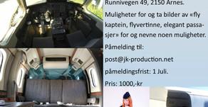 Har du lyst til å ta bilder inne i et fly?