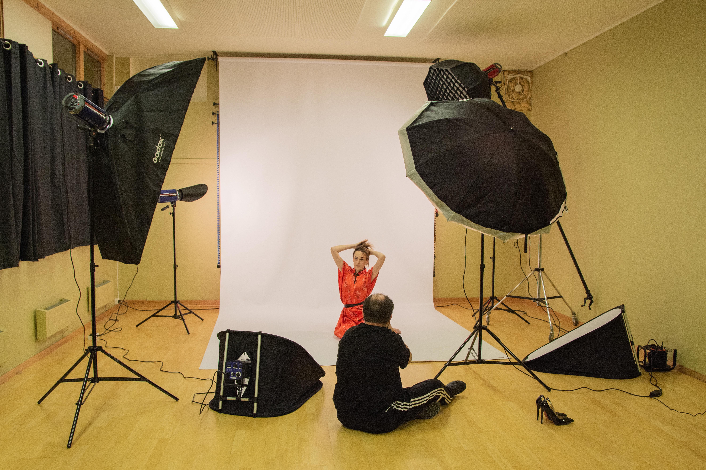 Kurs i portrettfotografering