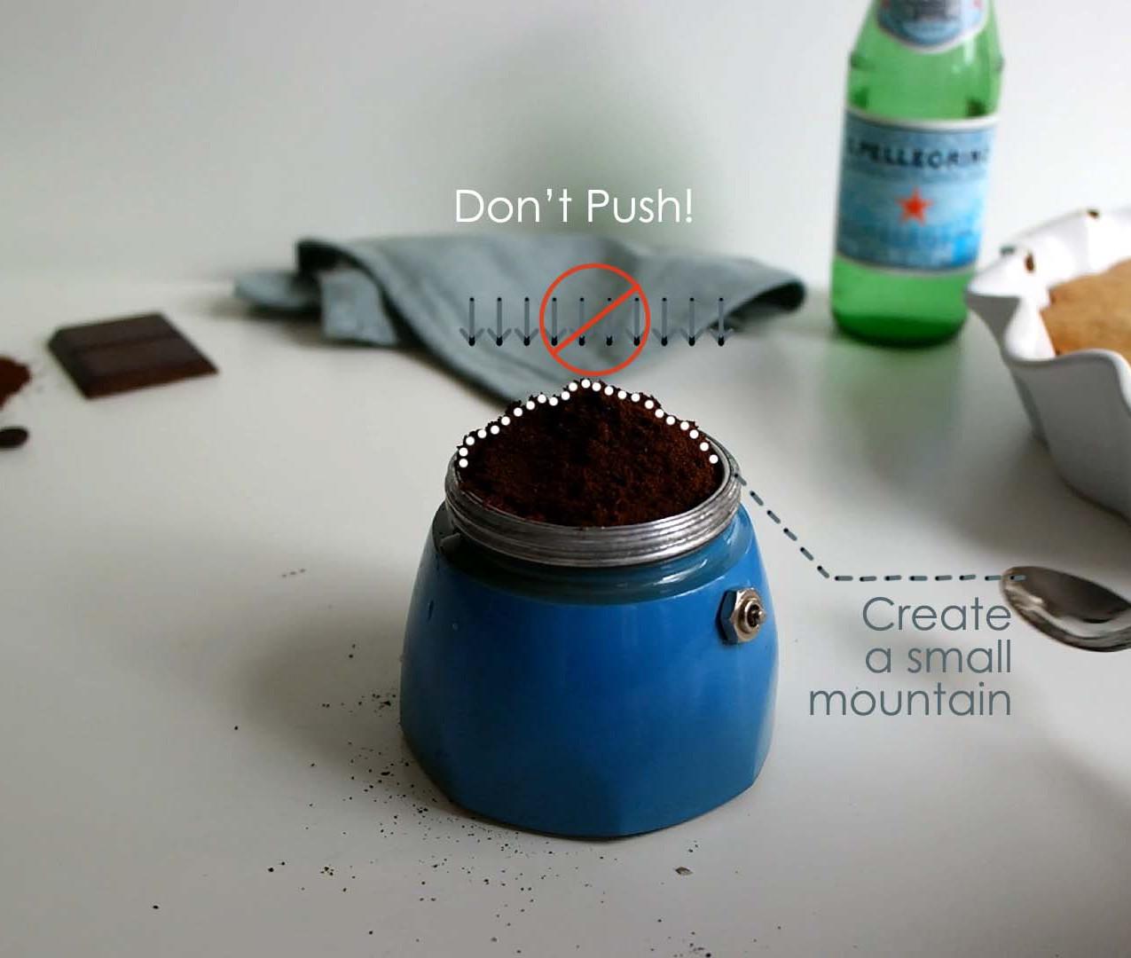 STEP 3 | ADD COFFEE