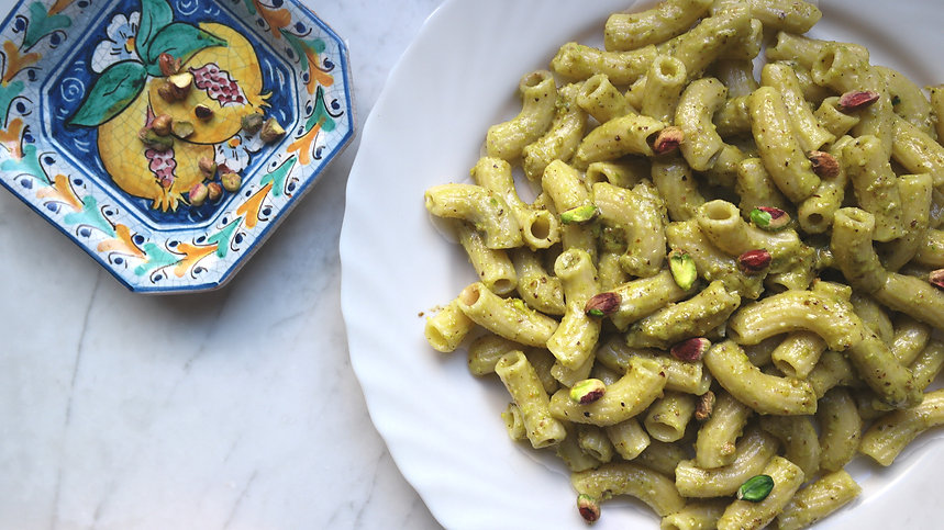 usitalianfood italian food meal kit pasta recipe food box authentic  cooking easy learn dinner lunch pistachio pesto extra virgin olive oil maccheroni spaghetti experience italy  vegetarian sicilian