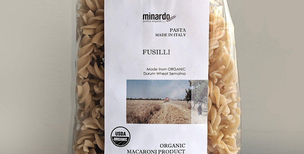 ORGANIC Fusilli Ancient Grains Pasta | Gluten Friendly