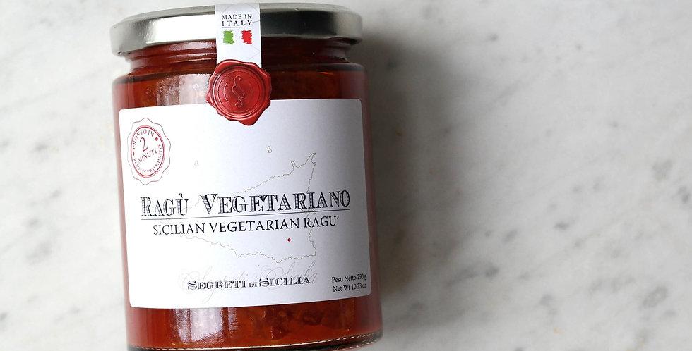 Vegetarian Ragù (Vegetarian Bolognese Sauce)
