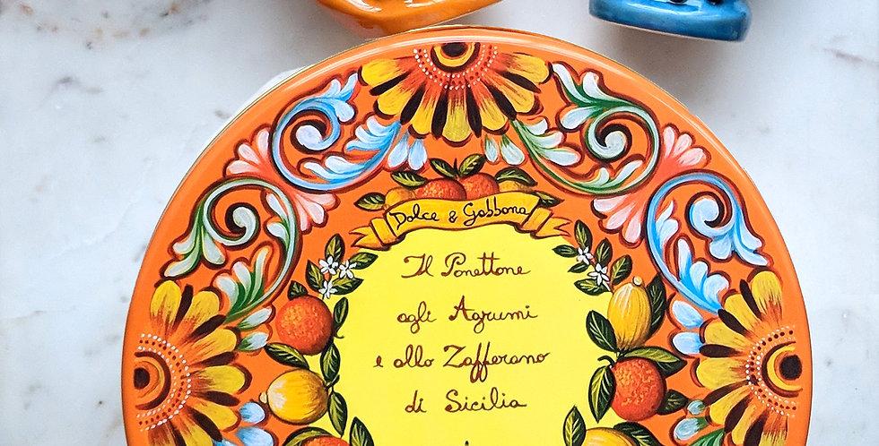 Dolce & Gabbana ft Fiasconaro Panettone Lemon, Mardarin & Saffron
