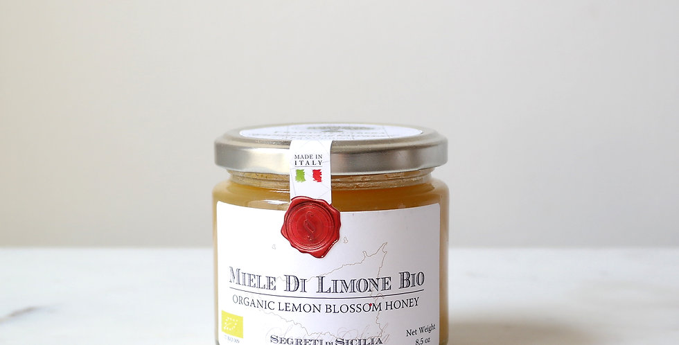 Organic Unpasteurized RAW LEMON Blossom Honey