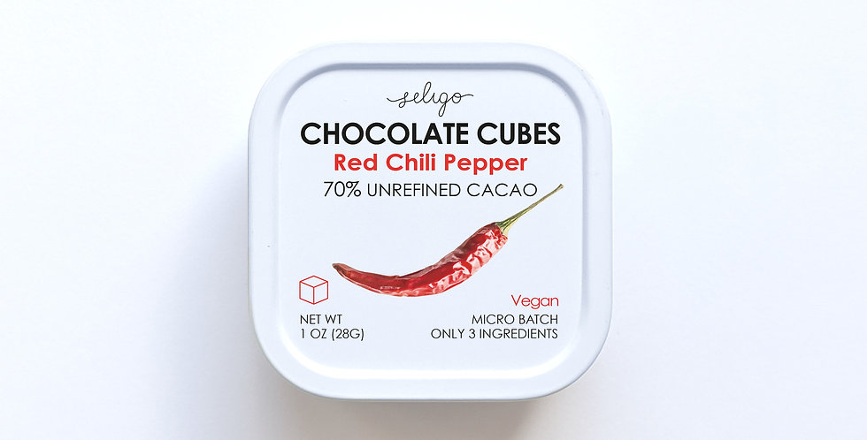 Chili Pepper - Bean to Cube Chocolate