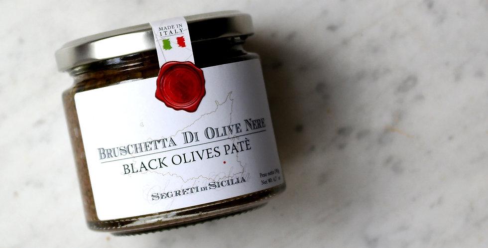 Black Olives Patè | Tonda Iblea